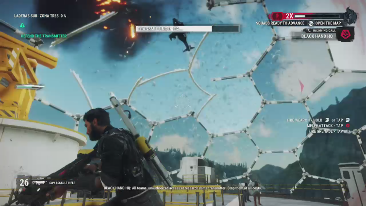 Tommy Tequila playing Just Cause 4