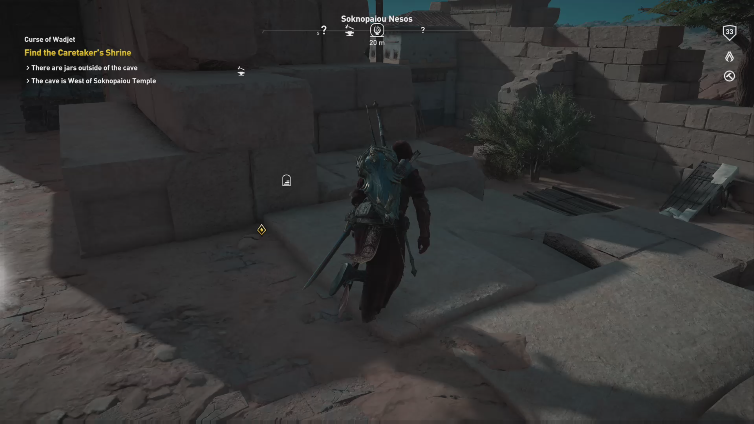 StK I playing Assassin's Creed Origins