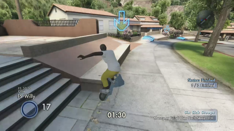 S3XY Quintus playing Skate 3