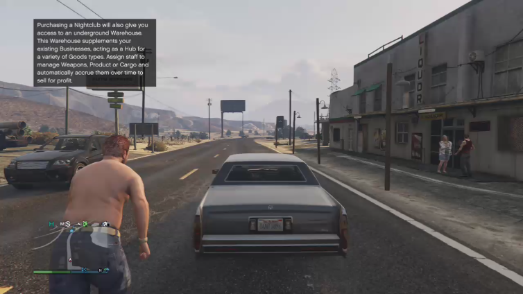 Lord Gheleon playing Grand Theft Auto V