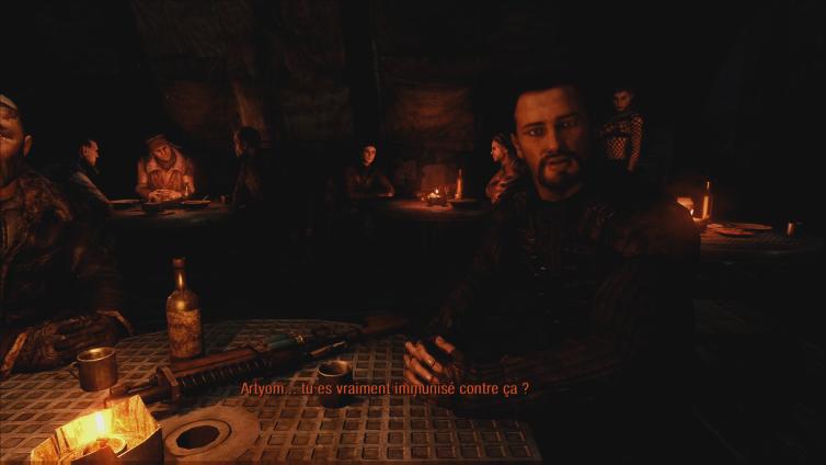 Madipad playing Metro 2033 Redux